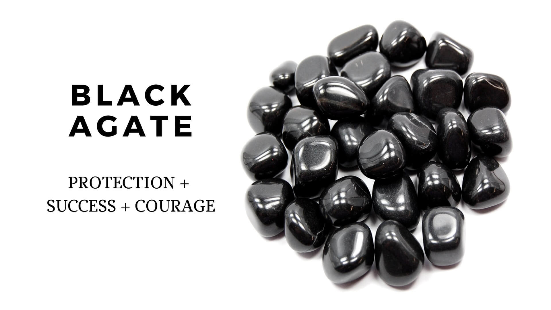 Black Agate Healing Properties | Black Agate Meaning | Benefits Of Black Agate - Magic Crystals