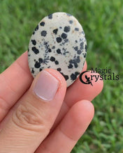 Load and play video in Gallery viewer, Dalmatian Palm Stone Gemstone