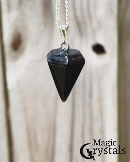 Looking for a Black Onyx? Find a Natural Black Onyx Necklace or Black Onyx pendants when you shop at Magic Crystals. Natural Black Onyx Crystal Healing Necklace. Black Onyx Necklaces. Amazingly versatile, Black Onyx jewelry can accent any outfit. Check out our Black Onyx necklace selection. Black Onyx Gemstone Necklaces Free Shipping available. Your Online Necklaces Store! Handmade Black Onyx pendant. Shop for Black Onyx necklace and pendant at Magic Crystals.