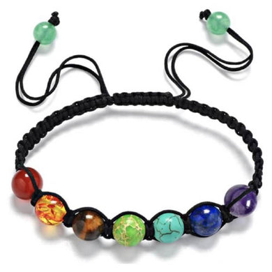 Looking for 7 Chakra Bracelet? Magic Crystals has Healing Adjustable Balance Beaded Bracelet. Unisex Bracelet. Perfect gift for Mother day, or fathers day, or Christmas Present. The seven chakras are the main energy centers of the body. You've probably heard people talk about