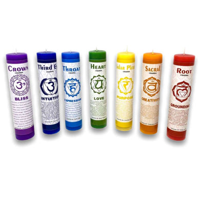 Shop for Chakra Meditation Candles Set with Crystals, Herbs & Essential Oils and more in magiccrystals.com . Full set of Ritual Candles available with FREE SHIPPING at MagicCrystals 7
