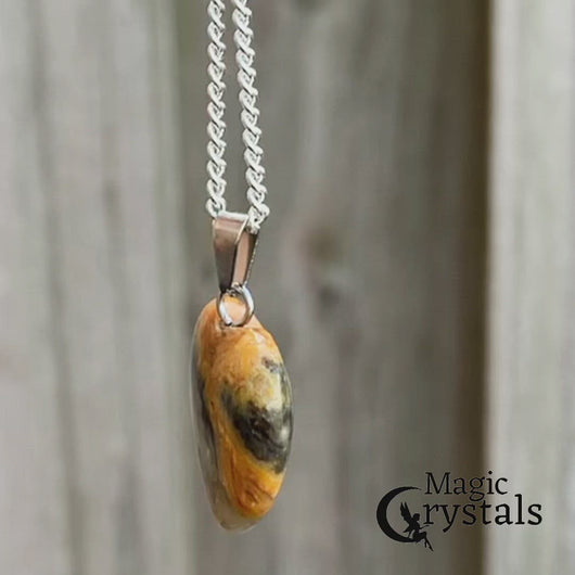 Check out our Yellow Jasper Stone pendant and necklace selection for the very best in unique, handmade pieces from Magic Crystals Yellow Jasper Stone necklace, Heart chakra healing Yellow Jasper Stone pendant, Healing Crystal Yellow Jasper Stone Jewelry,Natural stones necklace, Crystal Necklace. Jasper Stones.