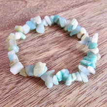 Load image into Gallery viewer, Amazonite Stone Handmade Raw Bracelet-Raw Bracelets-Magic Crystals