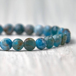 Check out Magic Crystals for the very best in unique, handmade Blue Apatite Bracelet Healing Stone elastic bracelet. Buy genuine apatite gemstone bracelet with FREE SHIPPING available. Apatite meaning: MOTIVATION • MANIFESTATION • COMMUNICATION. Healing Crystal apatite Jewelry,Natural stones bracelets. Gemini stone