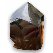 Load image into Gallery viewer, Looking for Black Obsidian crystal points? Shop at Magic Crystals for Black Obsidian Polished Point, Black Obsidian Stone, Black Obsidian Point, Stone Point, Crystal Point, Black Obsidian Tower, Power Point at Magic Crystals. Natural Black Obsidian Gemstone at  Magiccrystals.com - STONES & QUARTZ - Magic Crystals