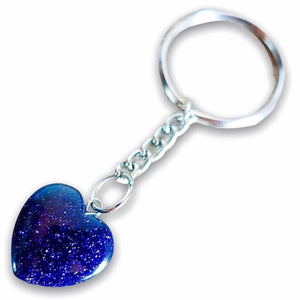 Blue Goldstone Keychain. Blue Goldstone or Sandstone is said to help attain one's goals. Blue Sandstone Stone Heart Keychain, Crystal Keychain at Magic Crystals. Shop with free shipping available. We carry a wide variety of cat eyes keychains, gemstones, bracelets, earrings and handmade jewelry.