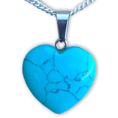 Did you scroll all this way to see where you can find the best turquoise necklace? You're in luck, because here they come. Check out our turquoise Stone Necklace and Pendant selection for the very best in unique, handmade turquoise pieces. Get the best deals on turquoise Gemstone Heart shape Necklaces in Magic Crystals