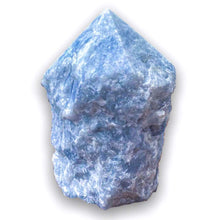 Load image into Gallery viewer, Buy Magic Crystals Blue Calcite Polished Point, Blue Calcite Stone, blue Blue Calcite Point, Stone Point, Crystal Point, Blue Calcite Tower, Power Point at Magic Crystals. Natural Blue Calcite Gemstone for TRANQUILITY and HEALING. Magiccrystals.com offers the best quality gemstones.