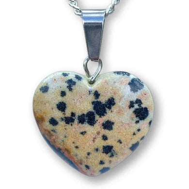 Check out our dalmatian jasper necklace selection for the very best in unique, handmade pieces from magic crystals. Check out our dalmatian jasper heart pendant and necklace dalmatian jasper necklace, Healing Crystal dalmatian jasper Jewelry, Natural stones necklace, Crystal Necklace. Jaspe de dalmata Collar de corazon