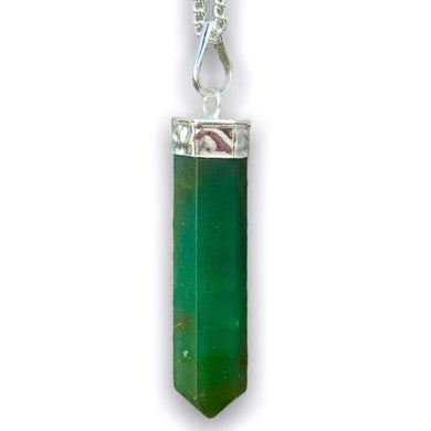 Looking for Jade stone jewelry? Shop at Magic Crystals to find Green Jade Single Point Necklace - Jade Stone Jewelry, single point pendants, and more. Green jade is an Empathetic stone. Enjoy FREE SHIPPING when you shop at magiccrystals.com