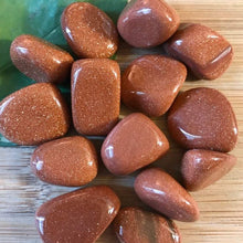 Load image into Gallery viewer, Goldstone Tumbled Stone-TUMBLED STONE-Magic Crystals