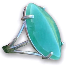 "Load image into Gallery viewer, Green Stone rings. Shop for Green Aventurine Stone Ring and Natural Green Aventurine Jewelry at www.magiccrystals.com . Green Aventurine rings help to encourage healing. Aventurine ring. Green aventurine is known as the ""Lucky Talisman. Shop at Magic Crystals."