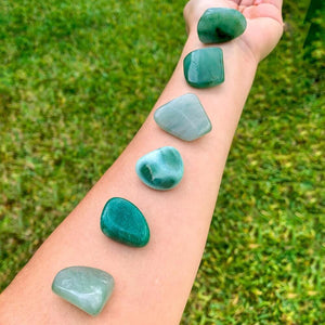 Buy Green Aventurine Tumbled Stones, Green Aventurine Polished Gemstones, Bulk Crystals at Magic Crystals. Green Aventurine TUMBLED. Green Aventurine for Heart Chakra, 4th Chakra helps with Abundance, Reiki, and Energy Healing. Green Aventurine is energizing, carries the energy of luck, and prosperity. FREE SHIPPING