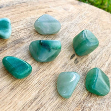 Load image into Gallery viewer, Buy Green Aventurine Tumbled Stones, Green Aventurine Polished Gemstones, Bulk Crystals at Magic Crystals. Green Aventurine TUMBLED. Green Aventurine for Heart Chakra, 4th Chakra helps with Abundance, Reiki, and Energy Healing. Green Aventurine is energizing, carries the energy of luck, and prosperity. FREE SHIPPING