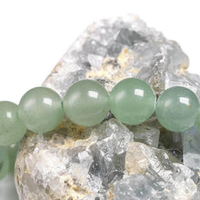 Load image into Gallery viewer, GREEN AVENTURINE BRACELET.  Looking for a Unique Green Aventurine Bracelet, Aventurine Stone Natural Bead Bracelet? Find green aventurine bracelet benefits when you shop at Magic Crystals. Green aventurine stone bracelet.