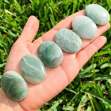 Jade Palm Stone Gemstone-Magic Crystals