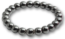 Load image into Gallery viewer, Hematite Stone Handmade Elastic Bracelet-Bracelets-Magic Crystals