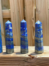 Load image into Gallery viewer, Lapis Lazuli Stone Obelisk-Obelisk-Magic Crystals