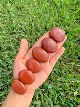 Load image into Gallery viewer, Red Jasper Palm Stone Gemstone-Magic Crystals