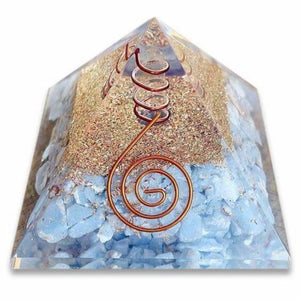 Shop for the Best orgone pyramid Collection in Magic Crystals. Angelite Orgone Pyramid, Energy Generator Orgone Pyramid for Emf protection. Our Angelite Orgonite pyramids made of a mix of organic - resin and non-organic materials (metal shavings). Find Orgone accumulator, orgone generator and Orgonite Angelite Crystals
