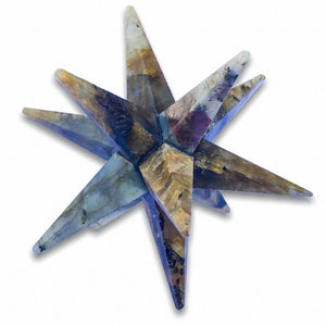 Looking for 12 point merkaba starts? look no further! Magiccrystals.com carries a variety of crystal gemstone 12 point stars. Find LARGE 12 Point Labradorite Gemstone Merkaba Star Sacred Geometry Healing Chakra crystal 75 mm with FREE SHIPPING available. - Merkaba - Magic Crystals