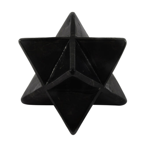 Large Shungite Merkaba - Magic Crystals