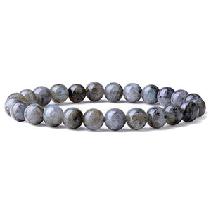 Larvikite Labradorite Bracelet - Labradorite Jewelry - Magic Crystals