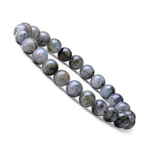 Load image into Gallery viewer, Larvikite Labradorite Bracelet - Labradorite Jewelry - Magic Crystals