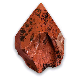 Buy Magic Crystals Mahogany Obsidian Polished Point, Mahogany Obsidian Stone, Red Mahogany Obsidian Point, Stone Point, Crystal Point, Mahogany Obsidian Tower, Power Point at Magic Crystals. Natural Mahogany Obsidian Gemstone for PROTECTION and GROUNDING. Magiccrystals.com offers the best quality gemstones.