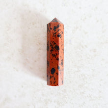Load image into Gallery viewer, Mahogany Obsidian is a symbol of protection. Looking for Natural Mahogany Obsidian Crystal? Shop at Magic Crystals for Mahogany Obsidian Point Wand, Generator Hexagonal Point (Reiki Healing Wand Point) We carry genuine Mahogany Obsidian Single Terminated Gemstone Crystal Pencil Point, Gemstone Wand.