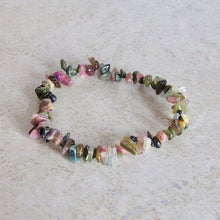 Load image into Gallery viewer, Natural Gemstone Mix Raw Stone Bracelet - Magic Crystals