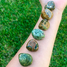 Load image into Gallery viewer, Buy Rainforest Jasper Tumbled Stones, Rainforest Jasper Polished Gemstone, Healing Stone, Bulk Crystals at Magic Crystals. Free shipping available in Magic Crystals. Rainforest Jasper offers a key one's heart connection to nature and one's impulse to work toward planetary healing.