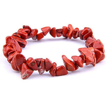 Load image into Gallery viewer, Red Jasper Raw Bracelet - Red Jasper Jewelry - Magic Crystals