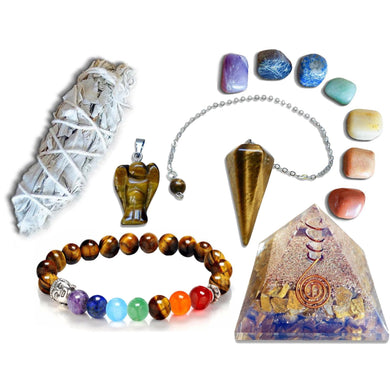 Tiger Eye Gemstone Bundle-Magic Crystals