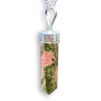 Unakite Stone Handmade Healing Crystal Necklace - Magic Crystals