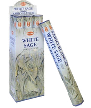 Load image into Gallery viewer, HEM White Sage Incense Sticks Natural Fragrance / Sabio Blanco Incienso-AROMATHERAPY-Magic Crystals