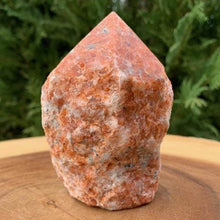 Load image into Gallery viewer, Looking for Sunstone crystal points? Shop at Magic Crystals for Sunstone Polished Point, Sunstone Stone, Purple Sunstone Point, Stone Point, Crystal Point, Sunstone Tower, Power Point at Magic Crystals. Natural Sunstone Gemstone for TRANSFORMATION and INTUITION Magiccrystals.com offers the best quality gemstones.