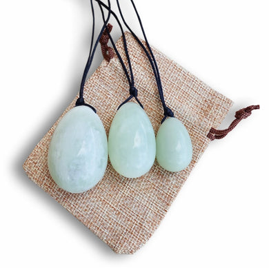 Xinshan Jade Yoni Eggs Set-YONI EGGS-Magic Crystals