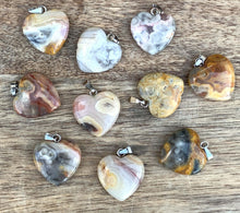 Load image into Gallery viewer, Check out our Yellow Jasper Stone pendant and necklace selection for the very best in unique, handmade pieces from Magic Crystals Yellow Jasper Stone necklace, Heart chakra healing Yellow Jasper Stone pendant, Healing Crystal Yellow Jasper Stone Jewelry,Natural stones necklace, Crystal Necklace. Jasper Stones
