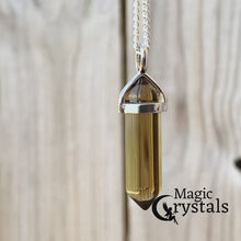 Load and play video in Gallery viewer, Natural Smoky Quartz Crystal Stone Pendant Necklace  | Magic Crystals