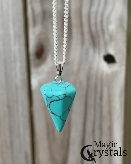 Turquoise Necklaces. Amazingly versatile, turquoise jewelry can accent any outfit. Check out our turquoise necklace selection. Turquoise Gemstone Necklaces Free Shipping available. Your Online Necklaces Store! Turquoise necklaces handmade. Shop for turquoise necklace at Magic Crystals.