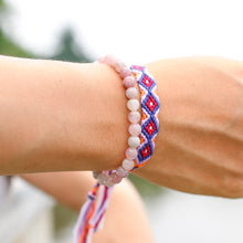 Load image into Gallery viewer, Rose Quartz Mala and Beads Bracelet-Bracelets-Magic Crystals