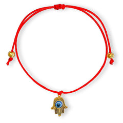 Golden Hamsa Red String Protection Bracelet Regular price