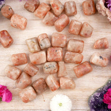 Load image into Gallery viewer, Sunstone Tumbled Stone-TUMBLED STONE-Magic Crystals