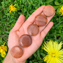 Load image into Gallery viewer, Peach Aventurine Disc Stone-Disc Stones-Magic Crystals