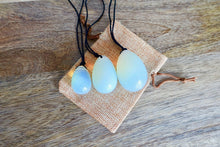 Load image into Gallery viewer, Opalite Stone Yoni Eggs Set and Massage Wand-YONI EGGS-Magic Crystals