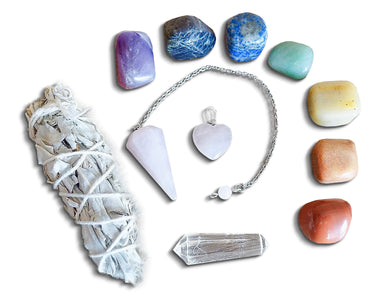 Love Box 7 Chakras Stone Polished Gemstone | Magic Crystals-Bundles-Magic Crystals