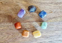 Load image into Gallery viewer, 7 Chakra Tumbled Stone Natural Polished Rock Set-Chakra Sets-Magic Crystals