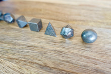 Load image into Gallery viewer, Hematite Sacred Geometry 7 pcs Set-Sacred Geometry-Magic Crystals