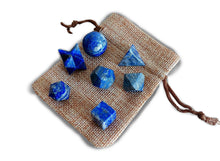 Load image into Gallery viewer, Lapis Lazuli Sacred Geometry 7 pcs Set-Sacred Geometry-Magic Crystals